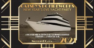 Gatsby's DC Fireworks New Year's Eve Yacht Party 2021